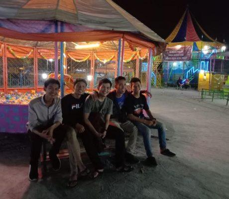 Medan celebrating Idul Fitri