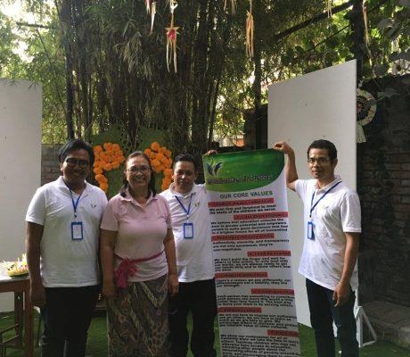IHF Volunteers during fundraising preparations